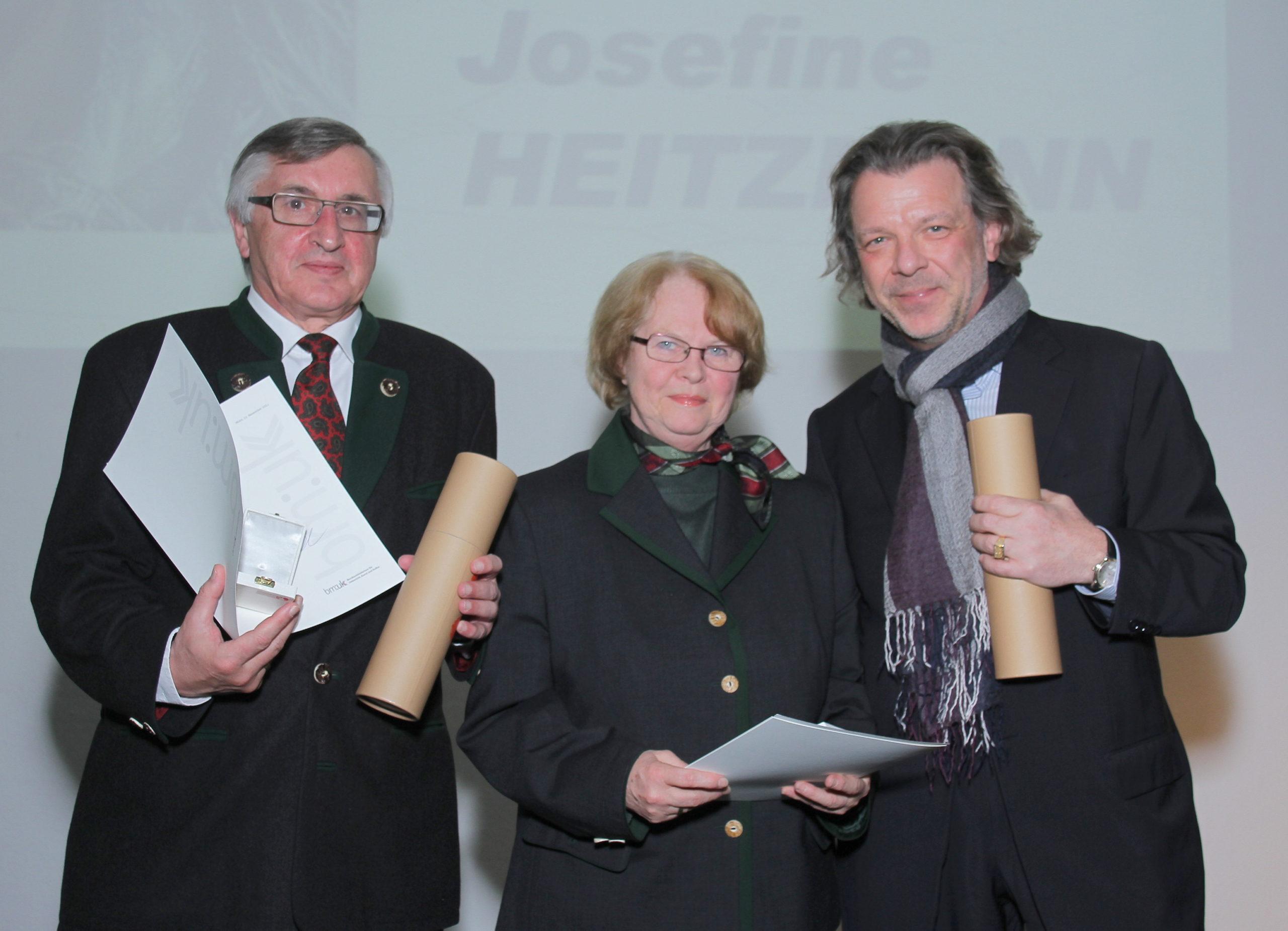 Anton und Josefine Heitzmann